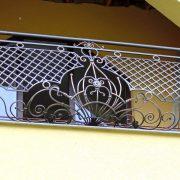 Кований балкон R82