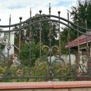 Кований паркан