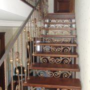 Перила на кованих сходах