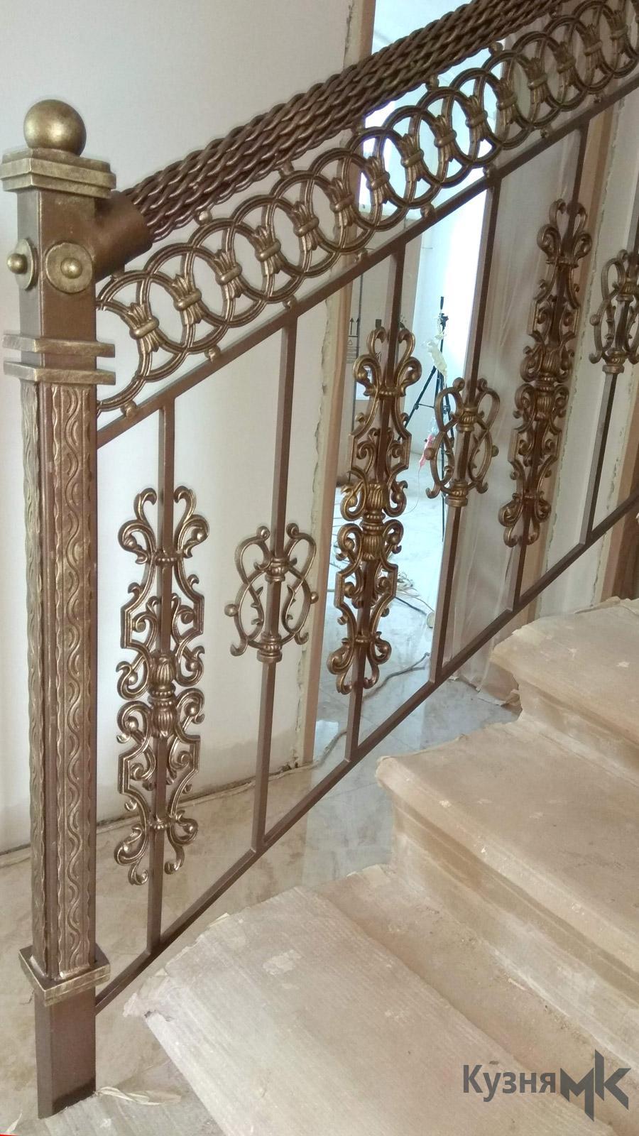 Ковані перила на сходи