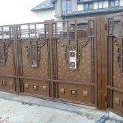Відкатні ковані ворота