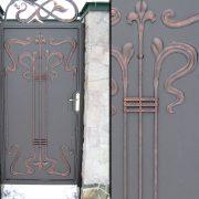 Кована хвіртка та ворота