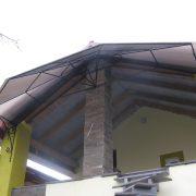 Кований дашок над сходами