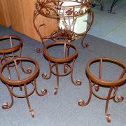 Кований стіл та стільчики