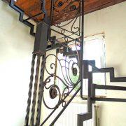 Металевий каркас сходів