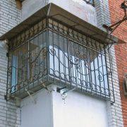 Ковані решітки на балкон